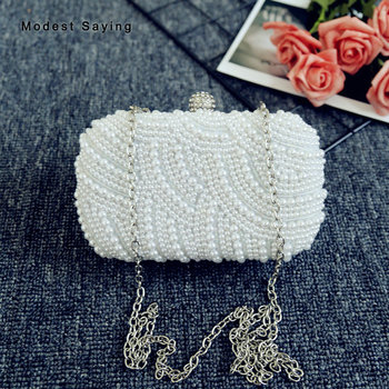 Ivory Pearls bag