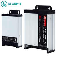 LED Outdoor Rainproof Power Supply DC12V 60W 120W 200W 250W 400W DC24V LED Driver Lighting Transformers