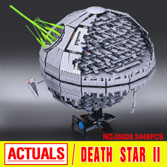 LEPIN 05026 Star Wars Series Death Star The second generation Building Block Bricks  Toys Compatible with 10143