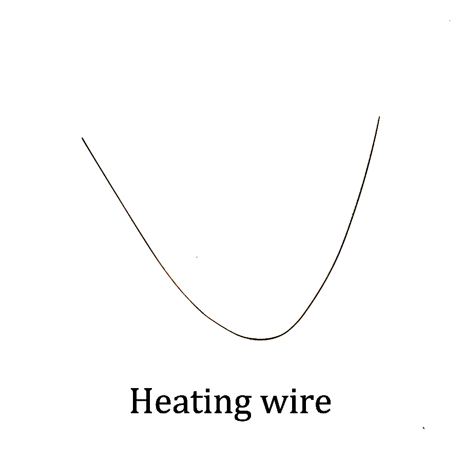10pcs 5pcs 8cm electricity heating wire resistance wire nichrome ...