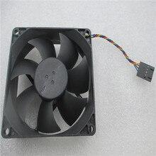 NEW FAN For Dell Optiplex 89R8J XE10 7010 9010 MT CPU Fan 89R8J 089R8J DS08025R12U 8025 8cm cooling fan цена