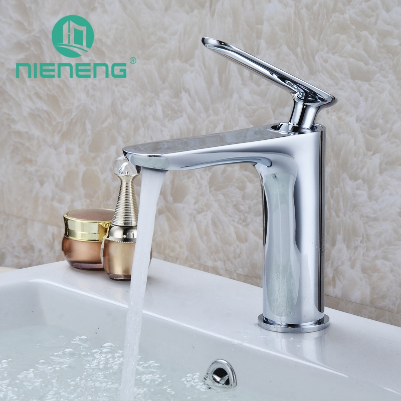 Nieneng Bathroom Supplies Vanity Sink Faucet Toilet Taps Bath Accessories Copper Decor for Bathroom Set Basin Mixer Tap ICD60349 nieneng big discount basin washroom mixer bathroom faucet tap mixers wc sanitary ware water toilet taps polished chrome icd60157