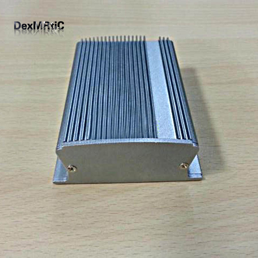 Aluminum alloy Instrument shell electric enclosure die cast box DIY 85X35.5X100mm wall-mounting 2014 hot sale high qulity ip65 die cast aluminum waterproof box 222 145 75mm with 6pcs screws and 2 iron mounting feet