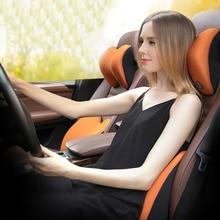 ICAROOM Car Neck Headrest Pillow 3D Space Memory Cotton Universal Seat Support c