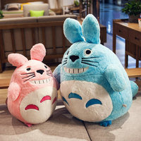 75cm Kawai Pink/Blue Totoro Plush Dolls Baby Lovely Animals Cats Figure Toys Kids Totoro Appease Dolls Children Girl's Gifts