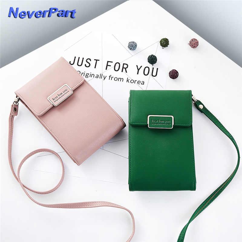 0feffd988d04 2018 New mini Shoulder bag Diagonal credit card crossbody bags Mobile Phone  Bag Ladies Wallet Mini