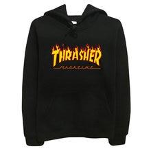 Blaze trasher thrasher flame hoody pullover hop sportswear hoodie sweatshirt skateboard