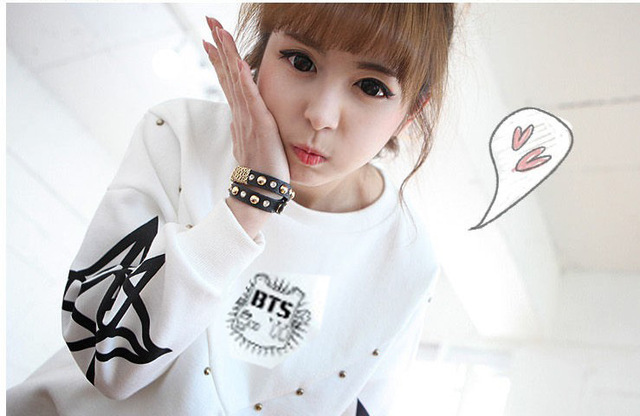 LIMITED EDITION BTS ARMY Logo Sweater Sweatshirt Pullover Longsleeve