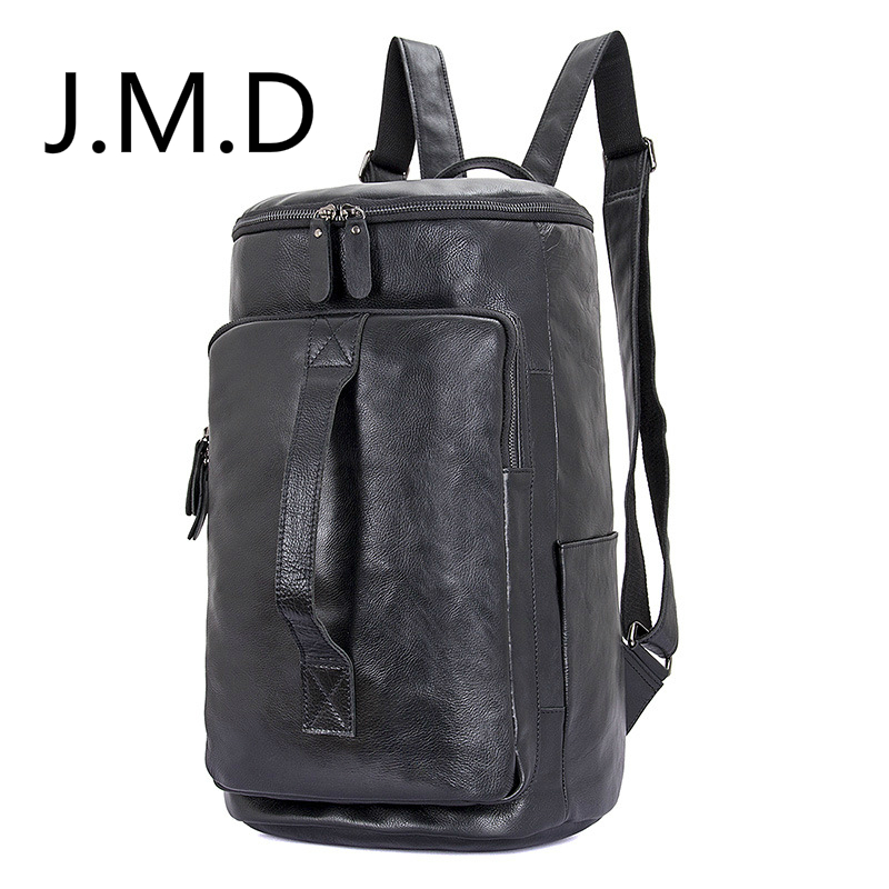 J.M.D 2019 New High Quality 100% Real Cow Leather  Mens Backpacks Tote Designs Large Travel Bag 2006J.M.D 2019 New High Quality 100% Real Cow Leather  Mens Backpacks Tote Designs Large Travel Bag 2006