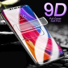 Full Cover Soft Hydrogel Film For Xiaomi 9 8 Lite Mix 3 Max PocoPhone F1 Redmi Note 7 6 5 Pro Screen Protector