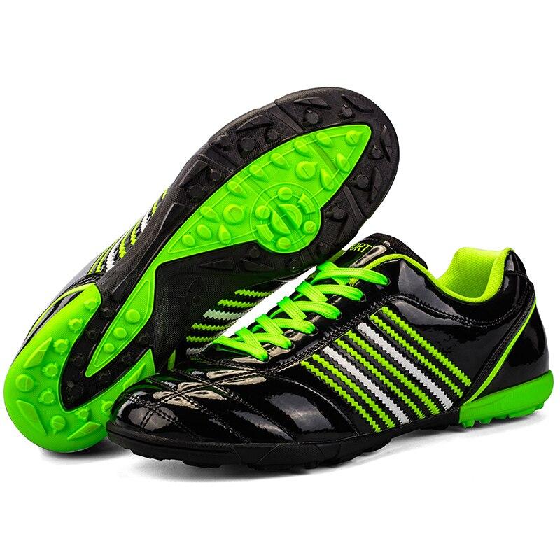 DREAGLE ילדים כדורגל סוליות מגפי נעלי ספורט מקורי לfutsal Futzalki עבור גודל מקצועי נעלי כדורגל עם קוצים אתחול 45
