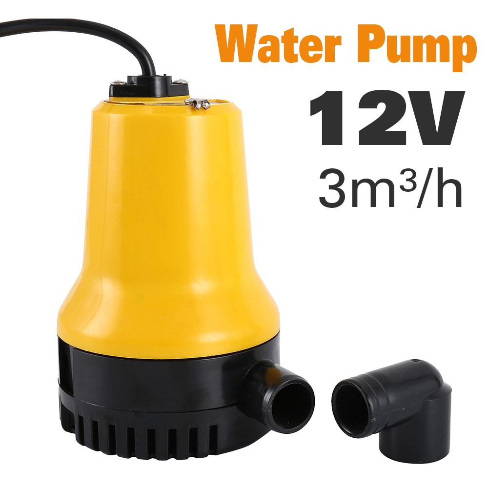 DC12V Agricultural Irrigation Bilge Water Submersible Electric Pump Submersible Pump Home Micro DC Pump dc 60v agricultural irrigation dc submersible water pump 220w home use electrical water lift pump garden watering pump