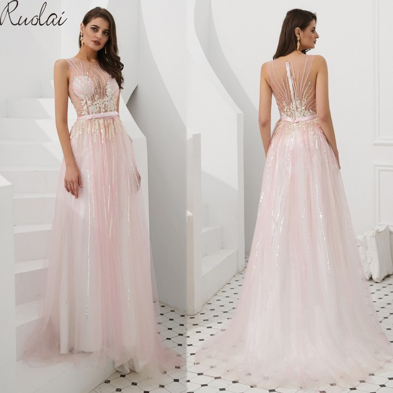 New   Dress   Gown   Evening     Dresses   Long 2019 Sequined   Evening   Gowns For Women   Evening     Dress   vestidos de fiesta vestido de noche