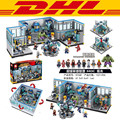 2016 nueva sede sy368 1521 unids super hero avengers modelo kits de construcción de juguetes de bloques de ladrillos compatible con el regalo
