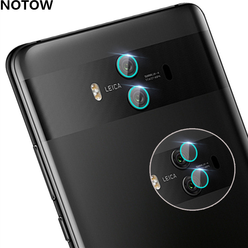 NOTOW 1Set/2Pcs flexible Rear Transparent Back Camera Lens Tempered Glass Film Protector Case For Huawei Mate10 10Pro /Honor 7X