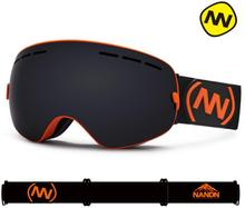 NANDN Skiing Goggles Big Spherical Men Women Snowboard Sports Ski Glasses Anti-fog Lens Professional Ski Goggles