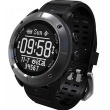 Akıllı saat GPS saati IP68 200m derin su geçirmez profesyonel açık spor nabız monitörü SOS pusula Smartwatch