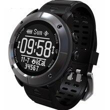 Astuto di GPS Della Vigilanza Della Vigilanza IP68 200m di Profondità Impermeabile Professionale Outdoor Sport Heart Rate Monitor SOS Bussola Smartwatch