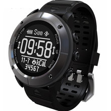 Smart Uhr GPS Uhr IP68 200m Tief Wasserdicht Professional Outdoor Sport Heart Rate Monitor SOS Kompass Smartwatch