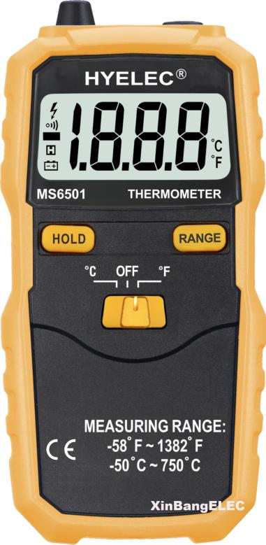 High Accuracy Termostato Digital <font><b>Thermometer</b></font> K Type Thermocouple Termometro Data Hold / Logging