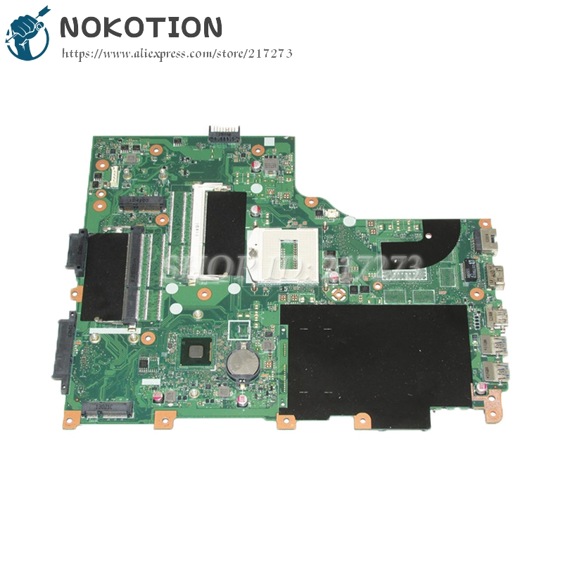 NOKOTION PC Motherboard For Acer aspire v3-772 v3-772g EA/VA70HW MAIN BOARD DDR3L PGA947 HD4000 Graphics va70hw main bd gddr5 motherboard for acer aspire v3 772g laptop main board ddr3 geforce gtx760m 100