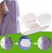 60Pcs Summer Deodorant Stick Stop Underarm Dress Clothing Sweat Perspiration Pads Shield Absorbing Armpit Liner Sheet collor pad
