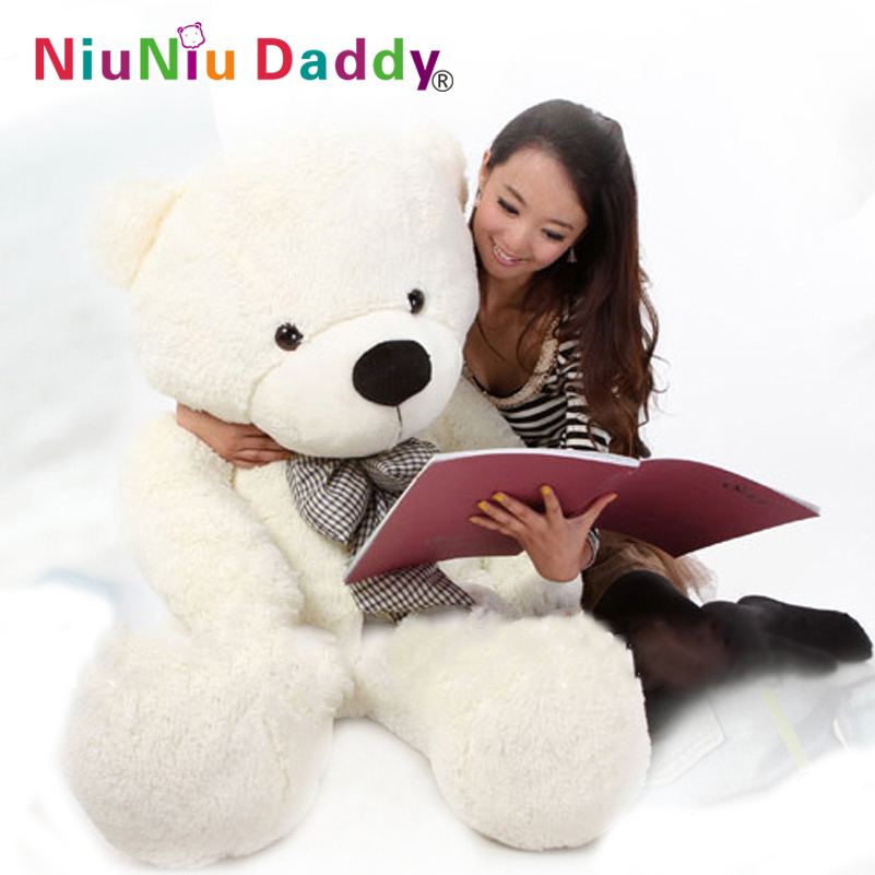 Free Shipping, Plush toys large size100cm / teddy bear 1m/big embrace bear doll /lovers/Valentine's day gift birthday gift 1pcs large size 120cm teddy bear plush toys bear 4 colors high quality kisd toys bear doll lovers christmas gifts birthday gift