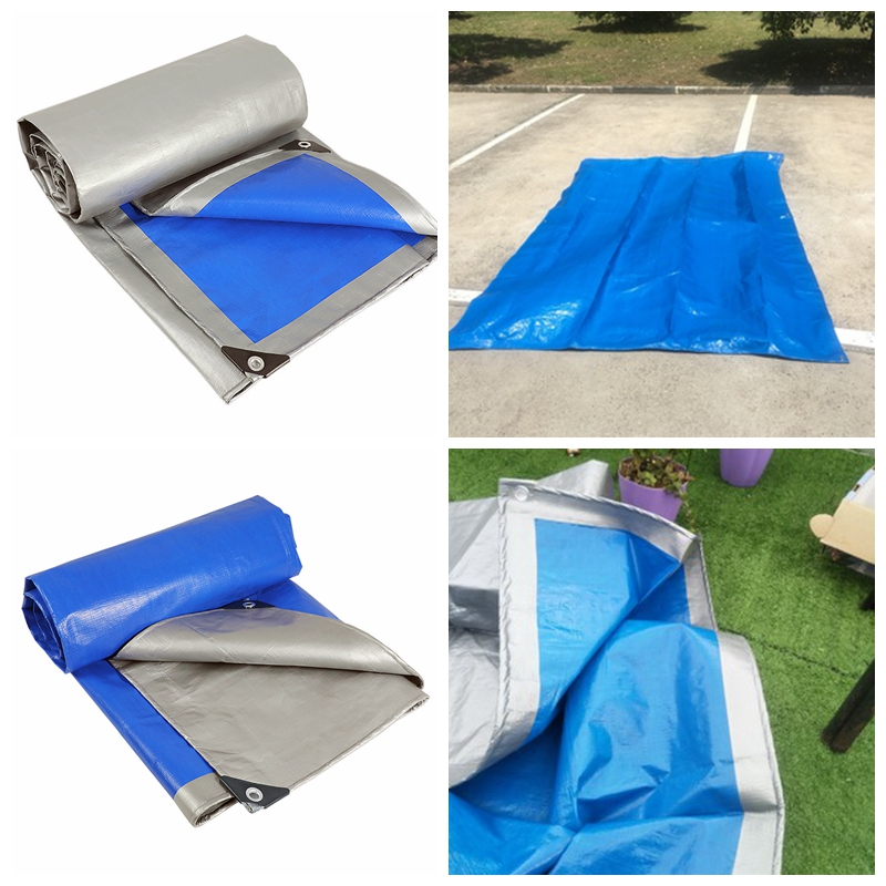 0.28mm Thick Tarpaulin Rainproof Cloth Waterproof Cover Sunshade Awning Wear-resisting Truck Car Canvas Balcony Succulent Cover