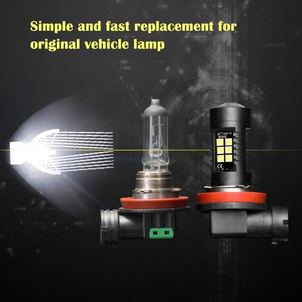 HTB1LJfpjCYH8KJjSspdq6ARgVXaj 2Pcs H8 H11 Led HB4 9006 HB3 9005 Fog Lights Bulb 3030SMD 1200LM 6000K White Car Driving Running Lamp Auto Leds Light 12V 24V