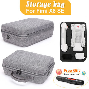 Drone Bags For Fimi X8 SE EVA Hard Storage Case For Xiaomi Fimi X8 SE RC Quadcopter Carrying Portable Bag Protect Accessories