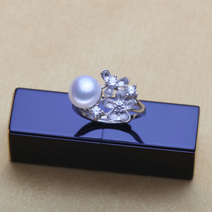 Image 4 - Wattens真珠ジュエリーウェディング婚約ジュエリーセット天然真珠ペンダントネックレス女性/スタッドピアス、花パーティーイヤリング