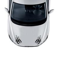 Serin ASLAN PAW stil araba hood fender tamponlar dekor sticker, 1 çift kalıp kesim araba styling vinil sticker, çıkarılabilir tutkal çıkartmaları