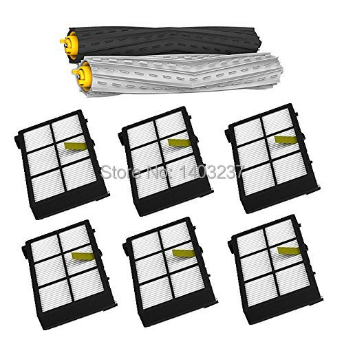 2 individual extractors & 6 HEPA filters Tangle-Free Debris Extractor For iRobot Roomba 800 series 870 880 900 series 980 6 frames reversible honey extractor for bee keeping