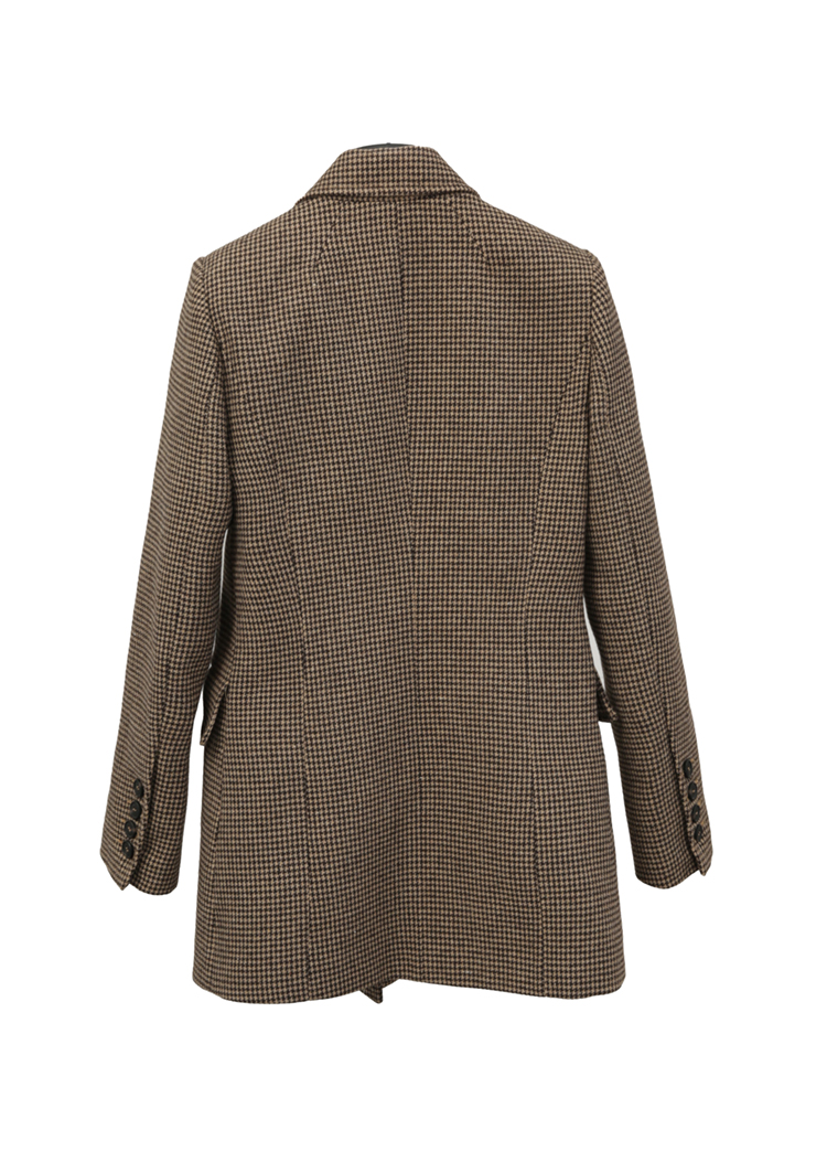LKGHULO Vintage Anzug Jacke Elegante Formale Casual Mantel frauen Plaid Blazer Geometrische W274 - 6