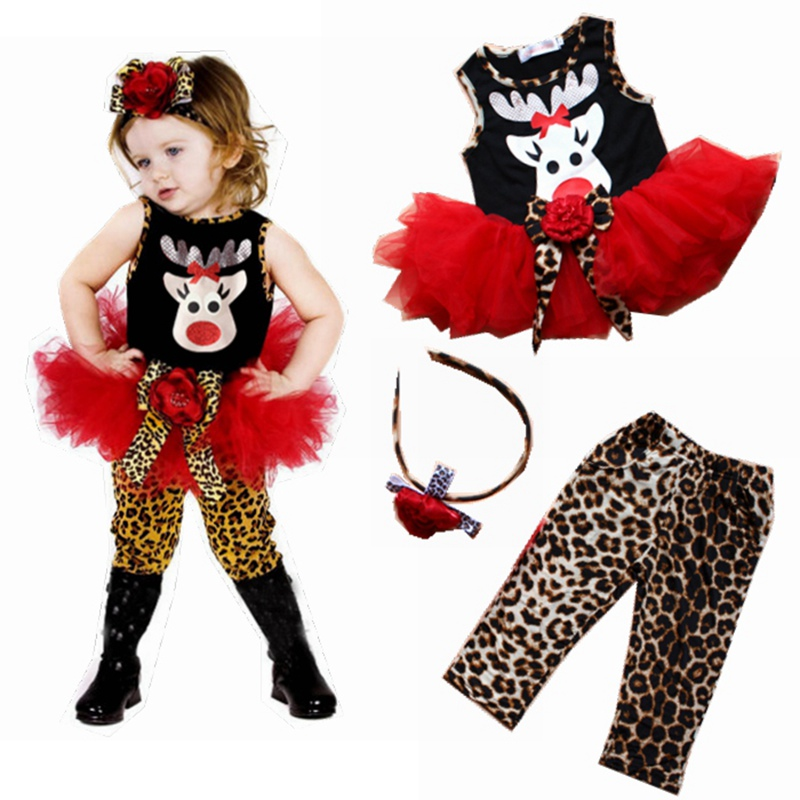 cute deer childrens christmas costumes