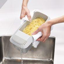 Micro-ondas macarrão macarrão panela de espaguete eco-friendly cozinhar caixa de macarrão ferramenta de cozinha