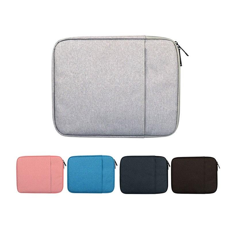 Voor Acer Aspire Switch 10 Rits Nylon Tablet Beschermhoes Voor Cube IWORK 10 Innerlijke Zachte Bont Licht Gewicht Mouw Pouch Bag