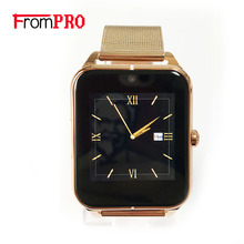 FROM F50 Smart Watch Wrist Call Reminder Support Camera SIM Card pedometer sleep monitoring compatible for IOS and Android Phone