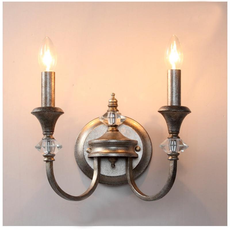 K9 Kristalne svjetiljke od kovanog željeza, svijetleće zidne - Unutarnja rasvjeta - Foto 3