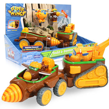 2018 Newest Transformation Super Wings Astra&Jet Moon Rover Car Super Wing Deformation Todd&Donnie Dig Rig Robot Toys 17 auldey style small super wings deformation mini jett mini robot wing action figures wing transformation toys for kids