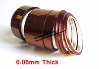 0 06mm Thick 95mm Wide 33M Length High Temperature Resist Polyimide Film Tape Fit For Protect