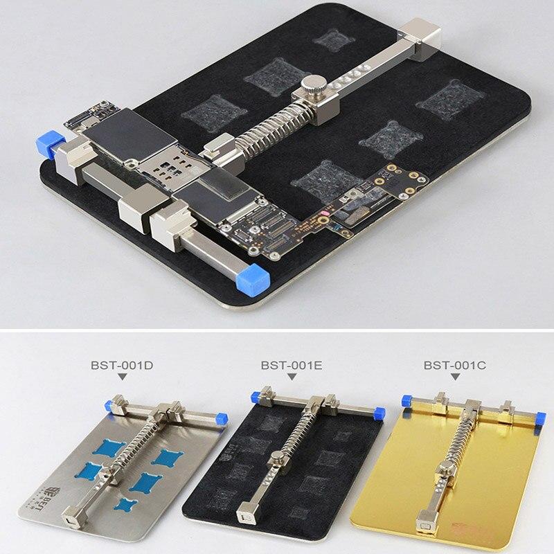 Stainless Steel Circuit Board Jig Soldering Desoldering PCB Repair Holder Fixtures Mobile Phone Repairing Tool
