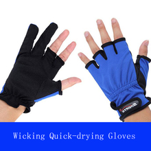 Fishg fingerless gloves  sunscreen breathable wear non-slip  Fishing tackle suppliesin selling A0021