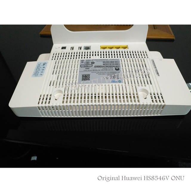 จัดส่งฟรี4GE + Wifi 2 4กิกะเฮิร์ตซ์/5กิกะเฮิร์ตซ์HS8546V GPON ONU ONT HGU  Dual Band