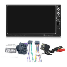 SWM-8013B 7 inch Display Screen Car DVD Vehicle Audio Video Player Support Brake Prompt Bluetooth Mini TF Card With Camera