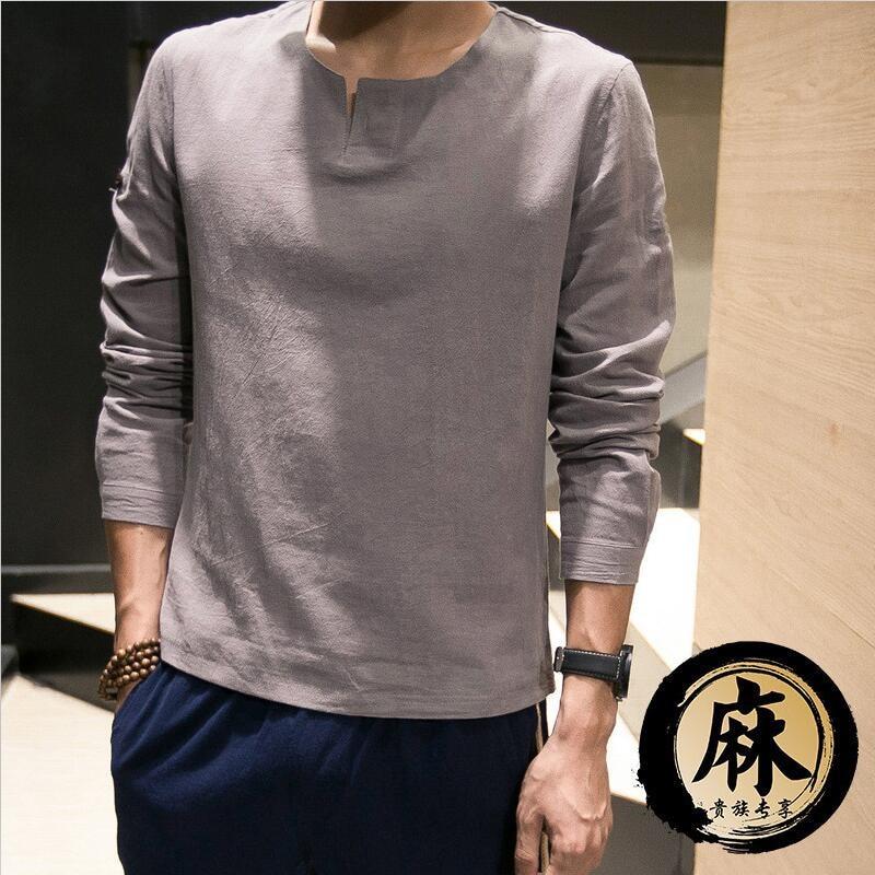 EspTmall Men Spring Autumn Shirts Long Sleeve Fashion Personality Mens Casual Solid Slim Shirt Pink XXL China