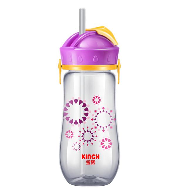 Palhas para crianças saltar da água do bebê caráter taças copos à prova de fugas garrafa de água de plástico bpa livre bebê cup garrafa escola