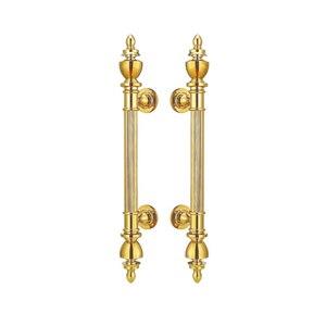 Антимикробная медная Cu + дверные ручки для входных дверей 25*475 мм для стеклянных/деревянных/каркасных дверей HM71