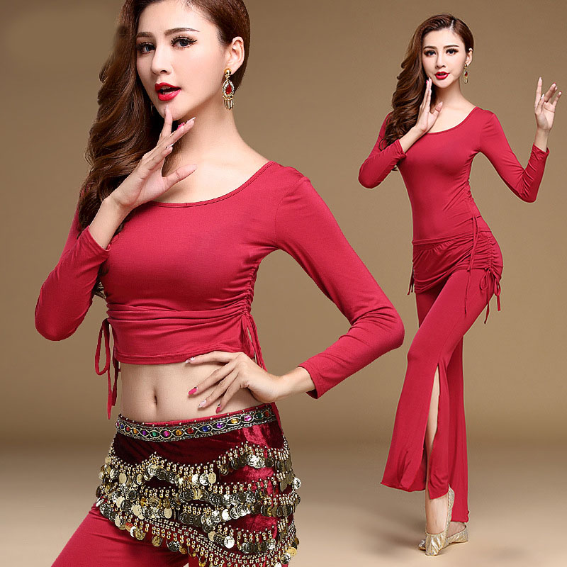 Belly Dance Costume Set Women For Performance Bollywood Competition Sexy Sequin Tops India Flamenco Salsa Oriental Bellydance