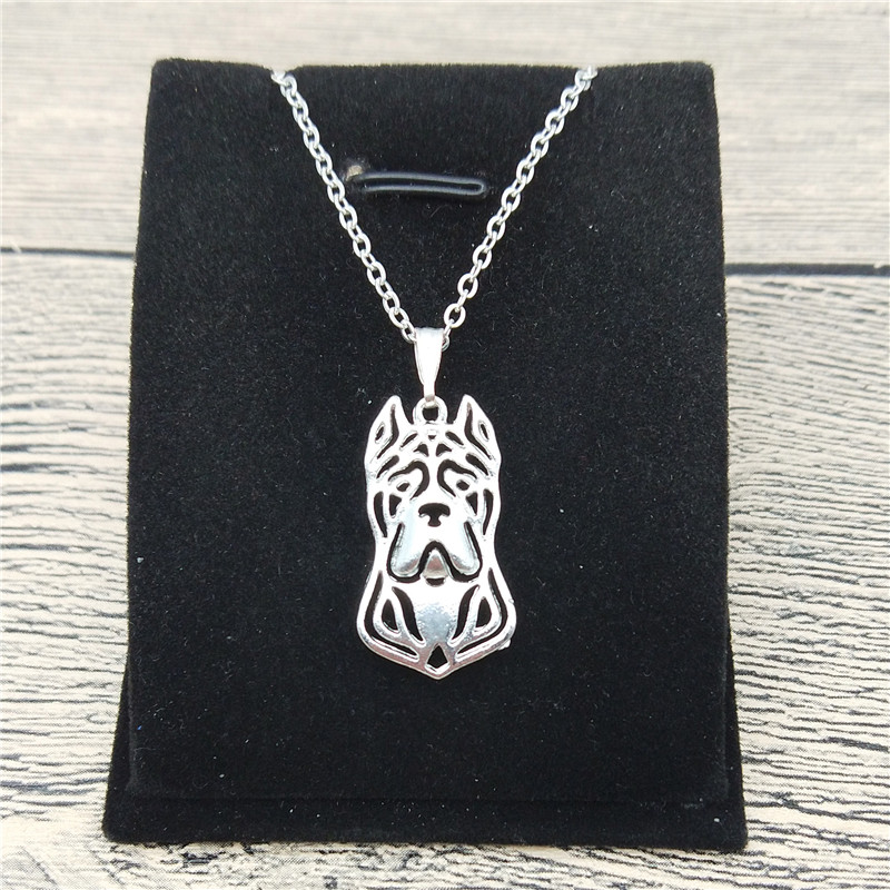 New Cane Corso Necklace Trendy Style Cane Corso Pendant Necklace Women Fashion Pet Dog Jewellery